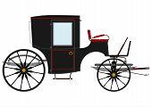 Black Retro Carriage.