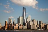Freedom Tower und des World Financial Center