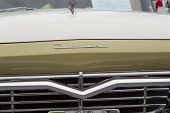 1957 Ford Fairlane 500 Grill View