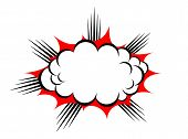 Vector explosion cloud
