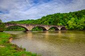 Stone bridge over Cumberland River