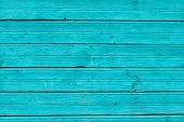 Mint Blue Painted Wooden Boards, Texture Background