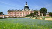Sanssouci palace in Potsdam Germany.