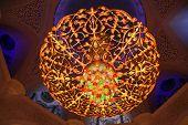 ? Handelier Inside Of Sheikh-Zayed-Moschee