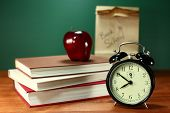 stock photo of punctuality  - Back to School Books - JPG