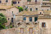 Historic Houses At Tossa De Mar, Spain