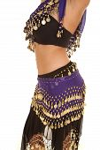 Belly Dancer Mid Side View