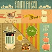 picture of milk products  - Farm Fresh Organic Products - JPG