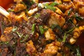 Baked Chicken With Chilli Sauce