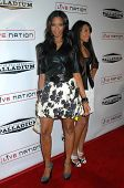 Vanessa Simmons and Angela Simmons at the Grand Reopening of The Hollywood Palladium. Hollywood Palladium, Hollywood, CA. 10-15-08