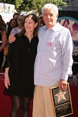 Lauren Shuler Donner and Richard Donner  at ceremony honoring Lauren Shuler Donner and Richard Donne