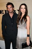 Len Wiseman and Kate Beckinsale  at the Burberry Beverly Hills Store Re-Opening. Burberry Beverly Hills Store, Beverly Hills, CA. 10-20-08