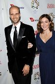 Edoardo Ponti and Sasha Alexander  at 'Rock The Kasbah' Benefiting Virgin Unite, Hollywood Roosevelt