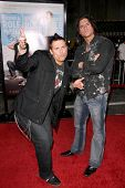 The Miz and Steve Morrison  at the World Premiere of 'Role Models'. Mann's Village Theatre, Westwood