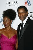 Pauletta Washington and Denzel Washington  at the 30th Annual Carousel of Hope Ball to benefit the Barbara Davis Center for Childhood Diabetes, Beverly Hilton, Beverly Hills, CA. 10-25-08