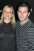 Amy Smart and Branden Williams  at the Launch Party for Blackberry Bold. Private Residence, Los Angeles, CA. 10-30-08