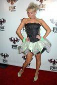 Kim Johnson  at the Pur Jeans Halloween Bash. STK, Los Angeles, CA. 10-31-08