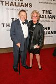 Jack Carter and Mitzi Gaynor  at the Thalians 53rd Anniversary Ball, honoring Clint Eastwood, to benefit  Cedars-Sinai Medical Center, Beverly Hilton Hotel, Beverly Hills, CA. 11-02-08