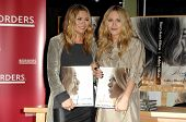 Mary-Kate Olsen and Ashley Olsen  at an in store appearance to sign copies of the new book 'Influence'. Borders Books and Music, Westwood, CA. 11-12-08