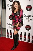 Leyla Milani  at a Special Screening of 'Quantum of Solace'. Sony Pictures, Culver City, CA. 11-13-08