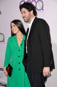 Soleil Moon Frye and Jason Goldberg  at the 18th Annual Environmental Media Awards. The Ebell Theatr