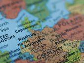 Netherlands Germany Map
