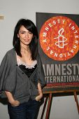 Nazanin Boniadi  at the 60th Anniversary of the Universal Declaration of Human Rights gala hosted by Amnesty International USA. Zune, Los Angeles, CA. 11-20-08