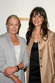 Vanessa Redgrave and Saffron Burrows  at the 60th Anniversary of the Universal Declaration of Human Rights gala hosted by Amnesty International USA. Zune, Los Angeles, CA. 11-20-08