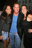 Janet Edwards, Ken Siporin and Jamie Lauren at an AMA Gifting Suite by ShoeDazzle.com, Gibson Guitars, Beverly Hills, CA 11-21-08