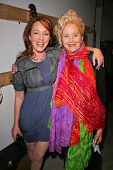 Jenny McShane and Sally Kirkland at an AMA Gifting Suite by ShoeDazzle.com, Gibson Guitars, Beverly Hills, CA 11-21-08