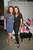 Jenny McShane and Valbona Coba  at an AMA Gifting Suite by ShoeDazzle.com, Gibson Guitars, Beverly Hills, CA 11-21-08