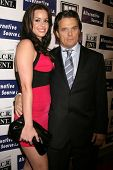 Maribel Montalvo and Damian Chapa  at the Los Angeles Premiere of 'Mexican Gangster'. Million Dollar