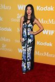 Zhu Zhu at the Women In Film Crystal + Lucy Awards 2012, Beverly Hilton Hotel, Beverly Hills, CA 06-