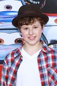 Nolan Gould at the Grand Opening of