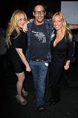 Jennifer Blanc, Denny Kirkwood, Lorraine Ziff at the wrap party for the upcoming