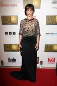 Maggie Siff at the Second Annual Critics' Choice Television Awards, Beverly Hilton, Beverly Hills, C