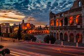 Colosseum In Night