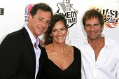 Bob Saget with Chelsea Field and Scott Bakula  at the