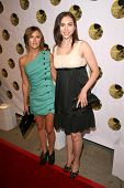 Elizabeth Hendrickson and Eden Riegel  at the 5th Annual Friends of El Faro Benefit to raise funds f