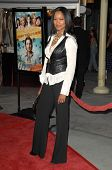 Garcelle Beauvais-Nilon  At the Premiere of