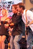Hayden Panettiere with Bob Guiney and James Denton  at 'Band From TV' Presented by Netflix Live. The