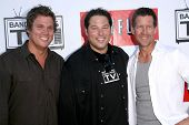 Bob Guiney with Greg Grunberg and James Denton  at 'Band From TV' Presented by Netflix Live. The Aut