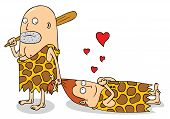 Prehistoric Couple