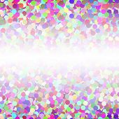 Abstract Colorful Confetti Seamless Background