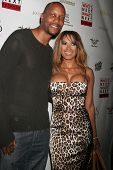 Dwayne Adway and Traci Bingham at the Whos Next Whats Next Fashion Show. Social Hollywood, CA. 08-13