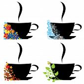 Cup And Four Seasons
