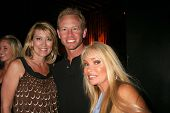Wendy Burch with Ian Ziering and Gloria Kisel at the Whos Next Whats Next Fashion Show. Social Hollywood, CA. 08-13-08 at the Whos Next Whats Next Fashion Show. ocial Hollywood, CA. 08-13-08
