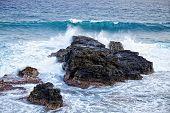 Splashes Of The Ocean