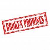 Broken Promises-stamp
