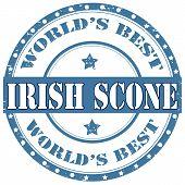 Irish Scone-stamp